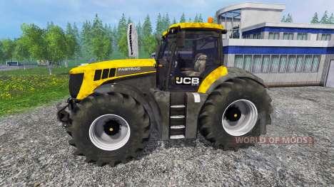 JCB 8310 Fastrac v5.0 para Farming Simulator 2015