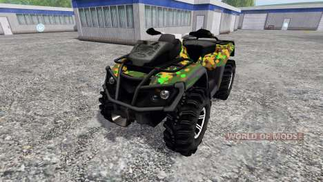 Can-Am Outlander 1000 XT para Farming Simulator 2015
