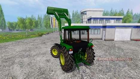 John Deere 2850A para Farming Simulator 2015