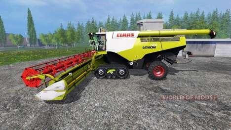 CLAAS Lexion 760TT v1.2 para Farming Simulator 2015