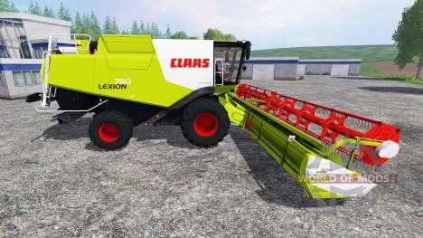 CLAAS Lexion 750 para Farming Simulator 2015