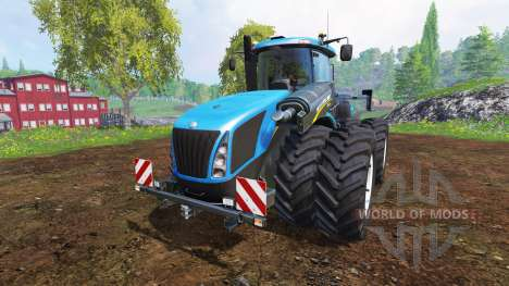 New Holland T9.700 [dual wheel] v1.1.1 para Farming Simulator 2015