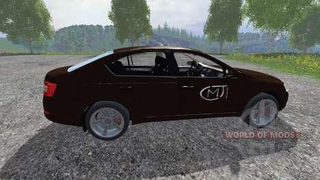 Skoda Octavia III para Farming Simulator 2015