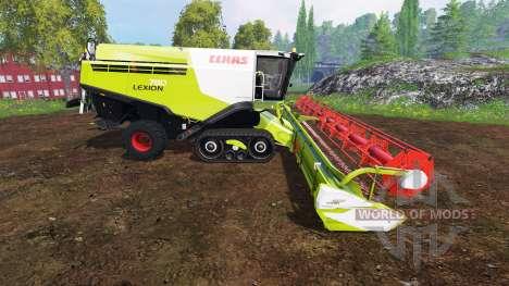 CLAAS Lexion 780TT v1.3 para Farming Simulator 2015