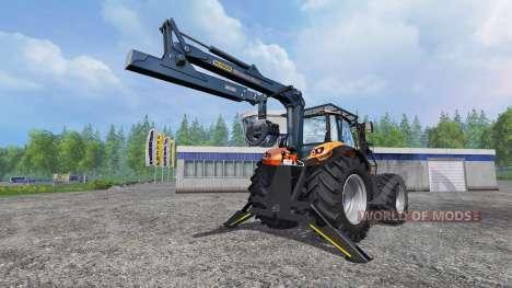 Deutz-Fahr Agrotron 7250 TTV [forestry] v1.1 para Farming Simulator 2015