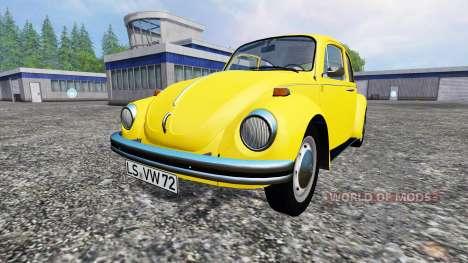 Volkswagen Beetle 1973 para Farming Simulator 2015