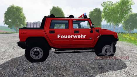 Hummer H2 [firefighters] para Farming Simulator 2015