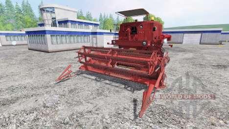 Bizon Z056 [beta] para Farming Simulator 2015