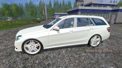 Mercedes-Benz E350 CDI Estate para Farming Simulator 2015