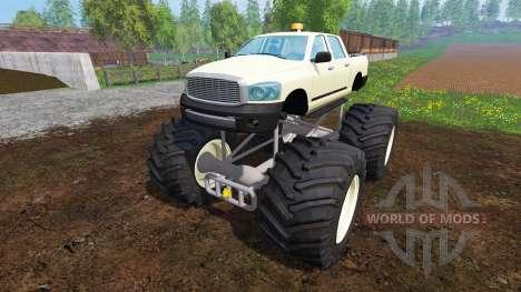 PickUp Monster Truck v1.0 para Farming Simulator 2015