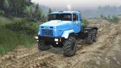 El KrAZ-63221 [23.10.15] para Spin Tires