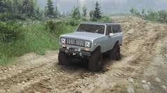 International Scout II 1977 [agent silver] para Spin Tires