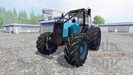 MTZ-1221 Belarús [el nuevo motor] para Farming Simulator 2015