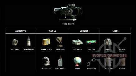 1000 materiales para la elaboración de para Fallout 4