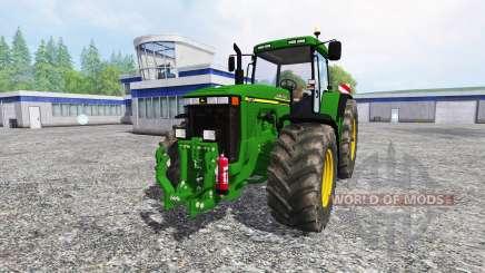 John Deere 8110 v2.0 para Farming Simulator 2015