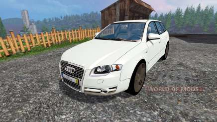 Audi A4 Avant Quattro v1.1 para Farming Simulator 2015
