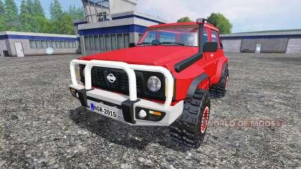 Nissan Patrol GR para Farming Simulator 2015