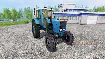 MTZ-50 LITROS con la consola del gestor de para Farming Simulator 2015