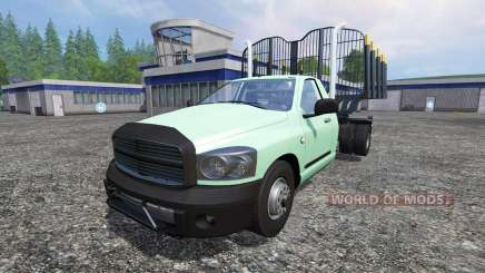 PickUp [log truck] v1.1 para Farming Simulator 2015
