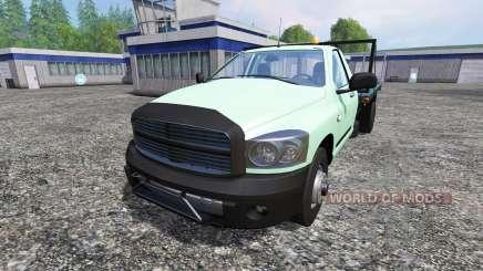 PickUp Flatbed para Farming Simulator 2015
