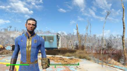 Abraham Lincoln para Fallout 4