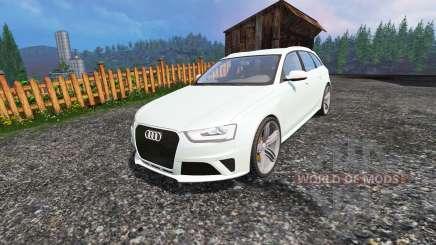 Audi RS4 Avant v1.1 para Farming Simulator 2015