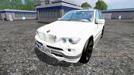 BMW X5 para Farming Simulator 2015