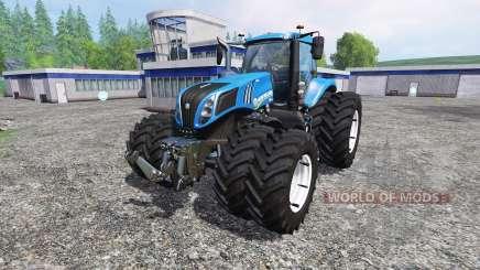 New Holland T8.435 DuelWheel v4.0.1 para Farming Simulator 2015
