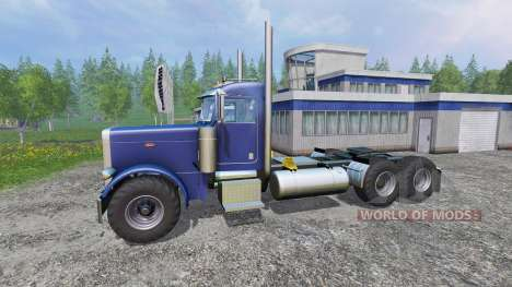 Peterbilt 379 [daycab truck] para Farming Simulator 2015