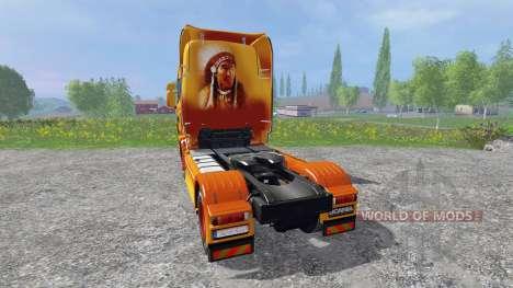 Scania R560 [sitting bull] para Farming Simulator 2015