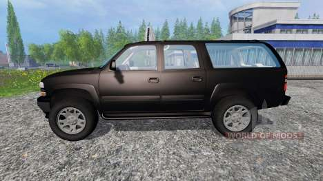 Chevrolet Suburban [custom] para Farming Simulator 2015