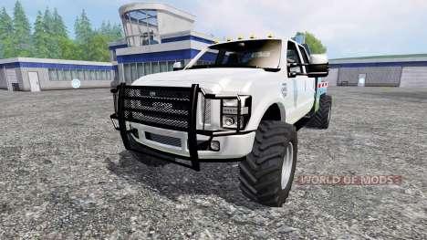 Ford F-350 [dually] para Farming Simulator 2015