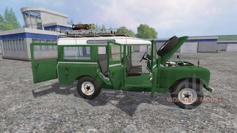 Land Rover Series IIa Station Wagon v1.2 para Farming Simulator 2015