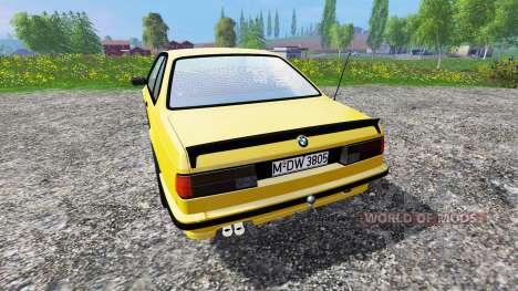 BMW M635CSi (E24) v1.0 para Farming Simulator 2015