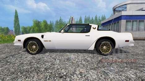 Pontiac Firebird Trans Am 1977 v1.1 para Farming Simulator 2015