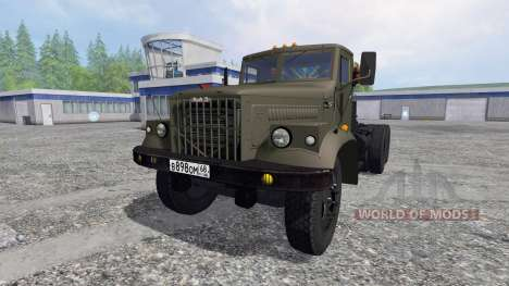 Kraz-258 para Farming Simulator 2015