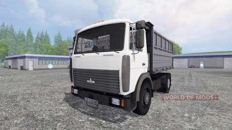 MAZ 5551 v2.0 para Farming Simulator 2015