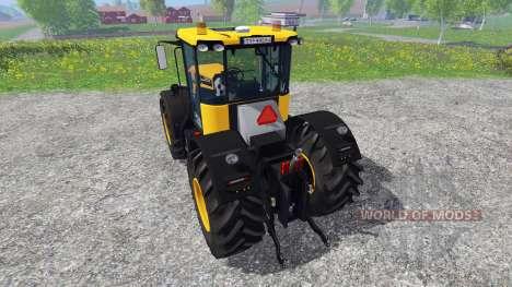 JCB 4220 v1.1 para Farming Simulator 2015