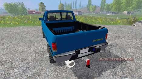 Ford F-1000 [Brasil] para Farming Simulator 2015