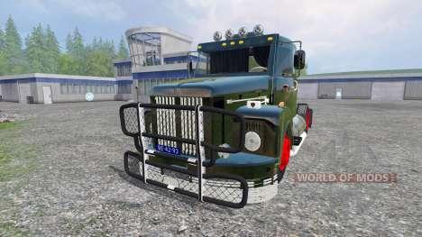Scania 111 para Farming Simulator 2015
