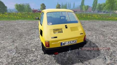 Fiat 126p 650E para Farming Simulator 2015