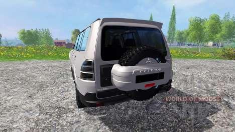 Mitsubishi Pajero IV para Farming Simulator 2015