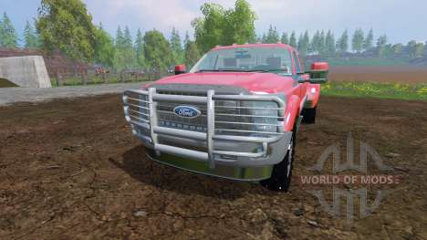 Ford F-450 v9.0 para Farming Simulator 2015