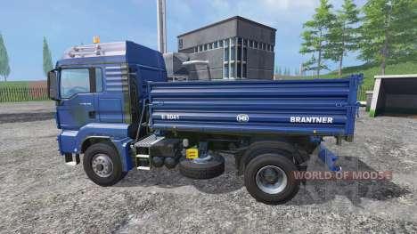 MAN TGS 18.440 [tipper] para Farming Simulator 2015