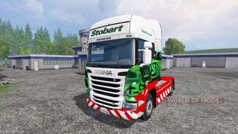 Scania R560 [eddie stobart] para Farming Simulator 2015