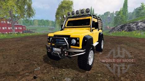 Land Rover Defender 90 [offroad] v2.0 para Farming Simulator 2015