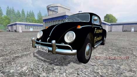 Volkswagen Beetle 1966 [feuerwehr] para Farming Simulator 2015
