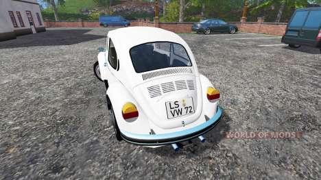 Volkswagen Beetle 1973 v2.0 para Farming Simulator 2015