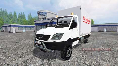 Mercedes-Benz Sprinter v1.1 para Farming Simulator 2015