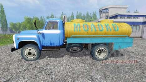GAZ-53 [la leche] para Farming Simulator 2015